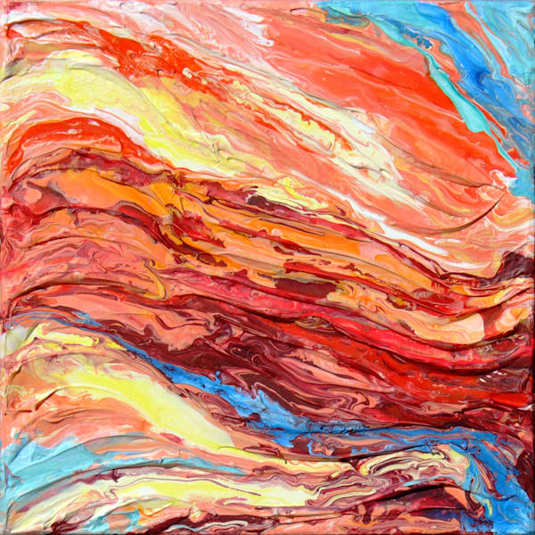 Original Painting of Rock - Strata #4