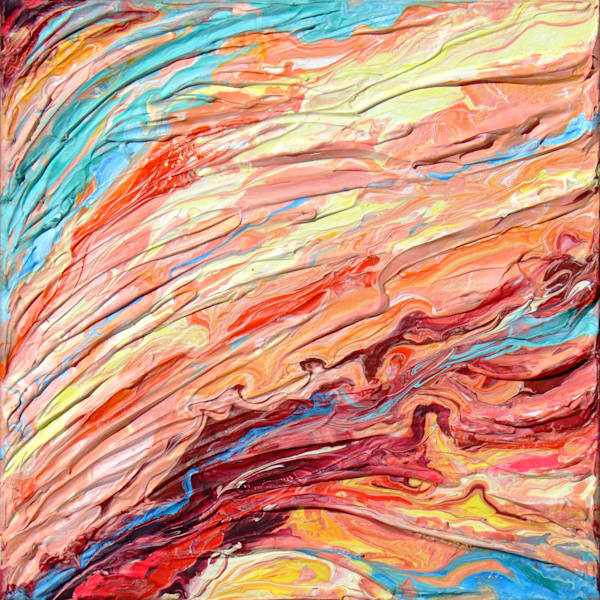 Original Abstract Painting of Rock - Strata #5