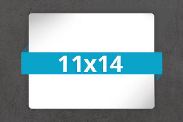 3- 11x14 Metal Prints + 1 FREE