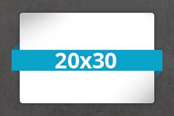 3- 20x30 Metal Prints + 1 FREE