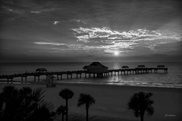 sunsets - black and white - JP Sullicvan fine art print - photographs