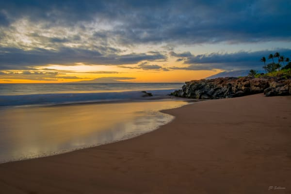 Maui Sand Sunset Photography Art by JP Sullivan Photography, Inc.