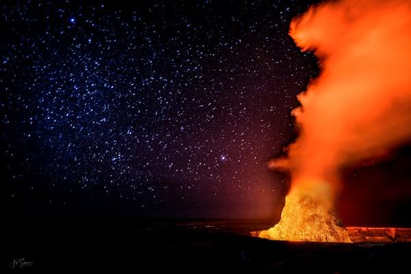 Lava Galaxy Photography Art by JP Sullivan Photography, Inc.