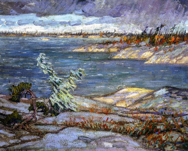 A Westerly Gale, Georgian Bay