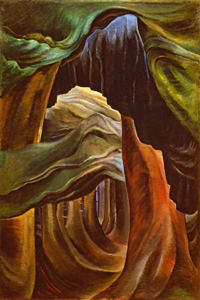 Forest British Columbia, 1932 by Emily Carr