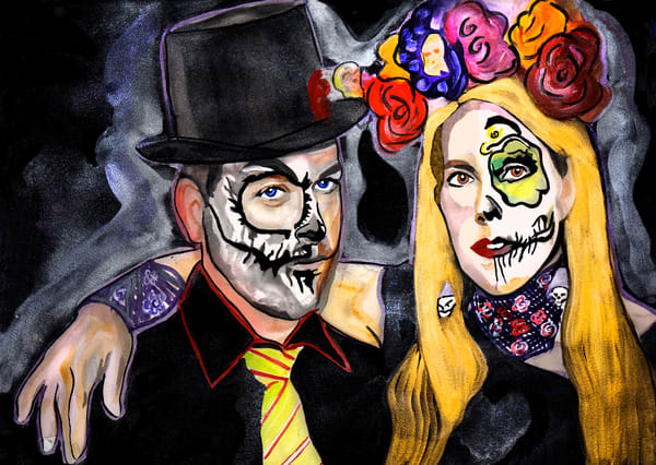 Day Of The Dead Out Art | William K. Stidham - heART Art