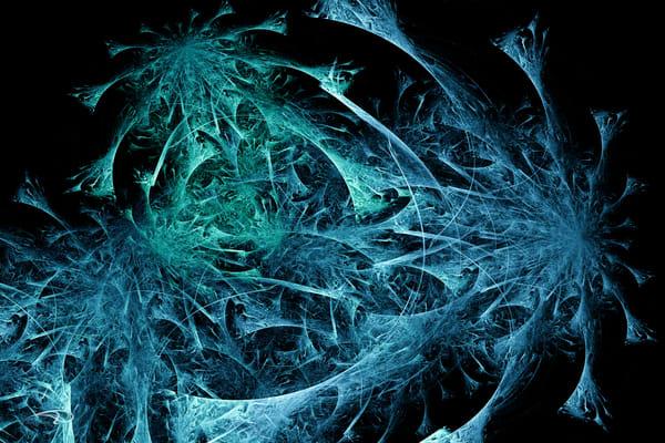 Space Weeds digital art by Cheri Freund