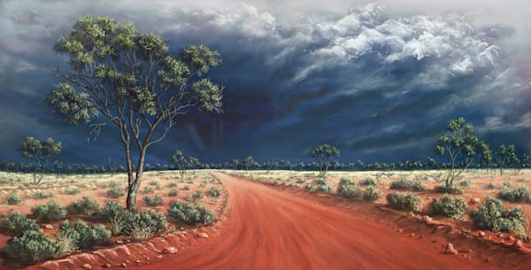 Gidgee Droughtbreaker by JennyGreentree