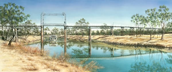 North Bourke Bridge by Jenny Greentree