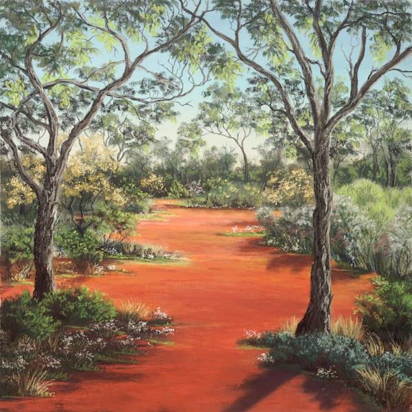 Red Ridge Springtime by Jenny Greentree
