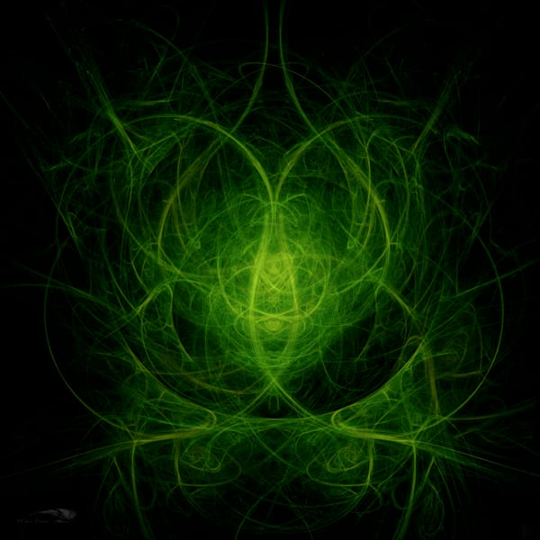 Lime Twist digital art by Cheri Freund