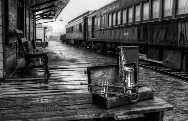 End Of The Line Photography Art | Instrumental Art