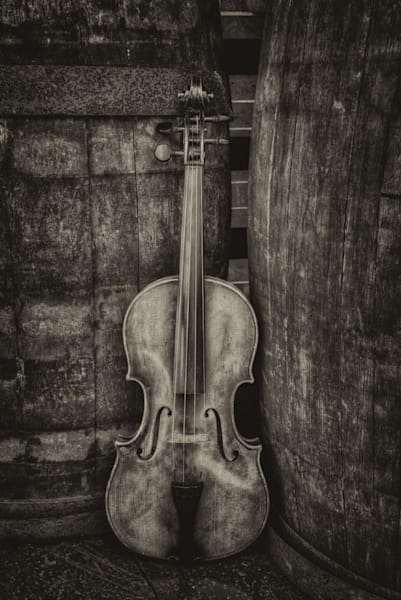 Violin Still Life Iii Art | Instrumental Art