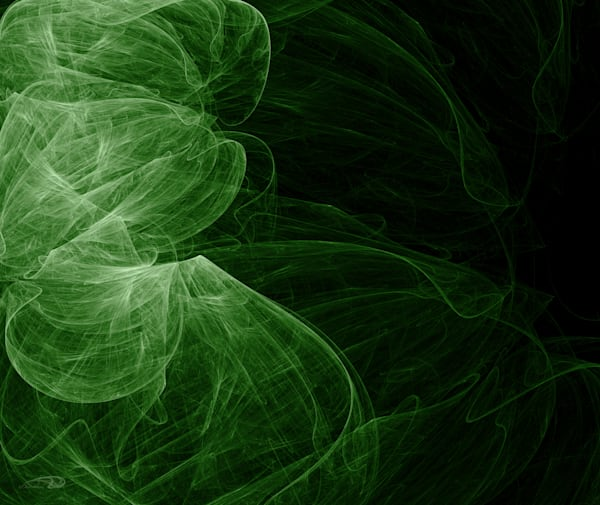 Into The Green digital art by Cheri Freund