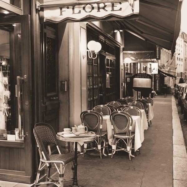Café De Flore Art | blacksgallery.ca