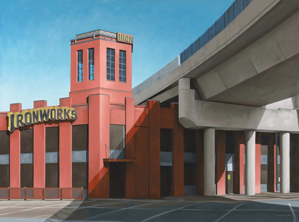 Ironworks - Denver, CO | Original Oil Painting | Fine Art Print