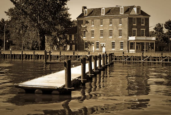 Delaware City Dock Limited Edition Signed Fine Art Landscape Photograph by Melissa Fague