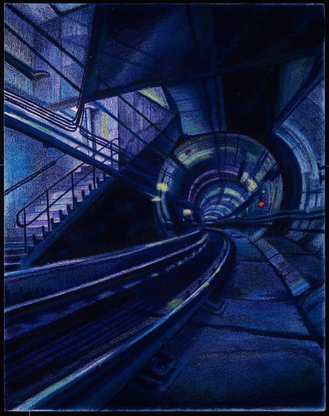 A FUTURISTIC UNDERWORLD SUBWAY FOR SALE