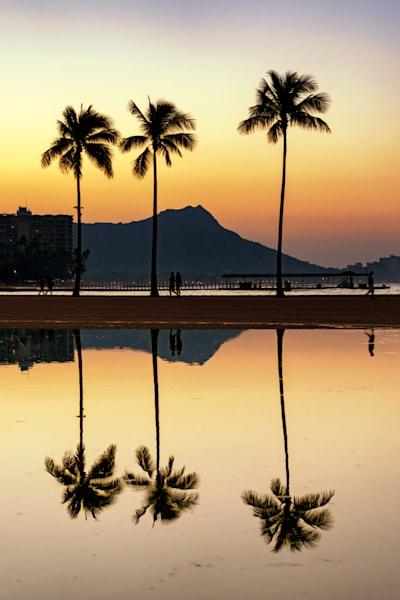 Hawaii Photography | Morning Reflections by Peter Tang