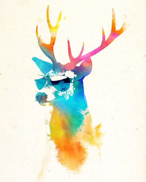 Cool Deer Art | blacksgallery.ca