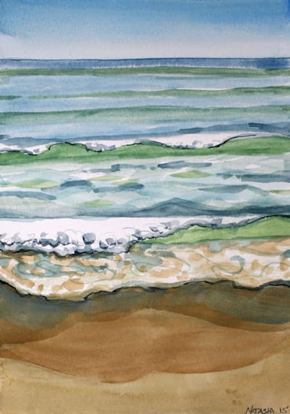 Outer Banks Wave II Art for Sale