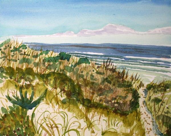 Dune Grass Beach Art for Sale