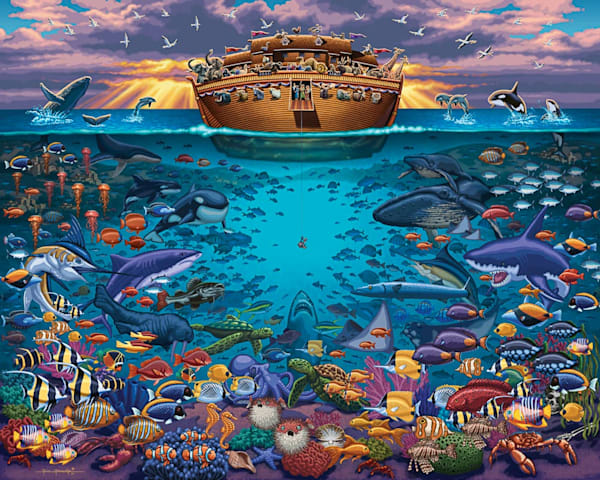 Noah's Ark Under the Sea