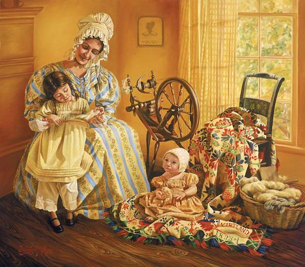 Emma with Children