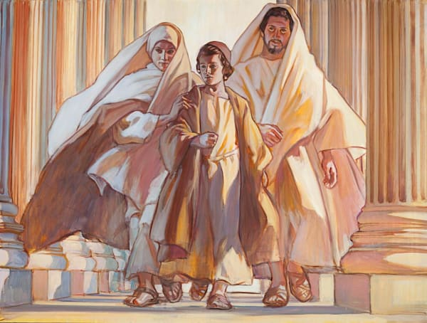 Return From The Temple Art | Cornerstone Art