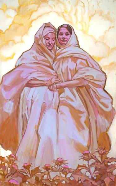 Mary and Elisabeth