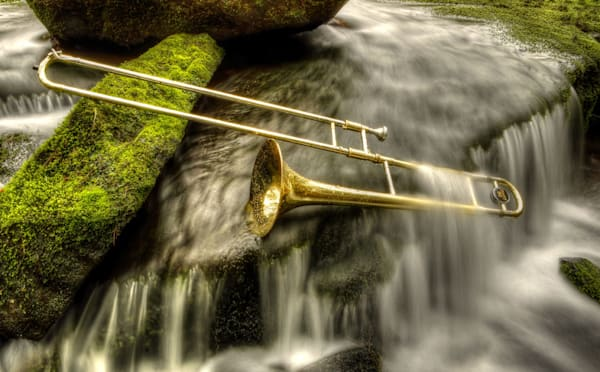 Water Slide Photography Art | Instrumental Art