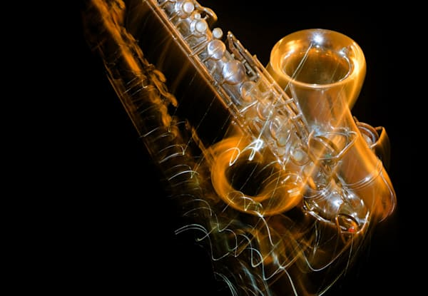 Sax In Motion Ii Art | Instrumental Art