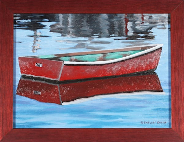 Dinghy | Original Art | Massachusetts Painting