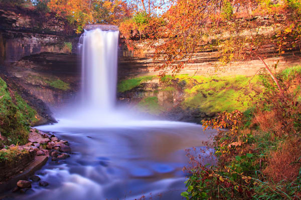 Minnehaha Fall - Fine Art Landscape | William Drew Photography