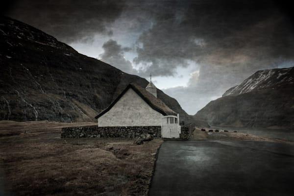 293 Faroe Islands Saksun Church2c