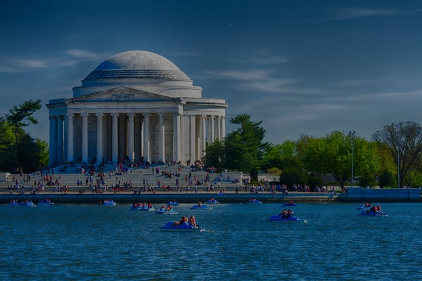 Fine Art Photograph of the Jefferson Memorial by Michael Pucciarelli