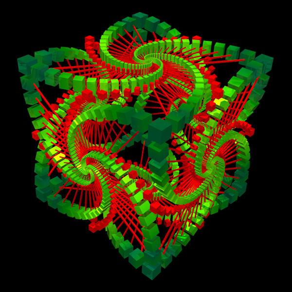 Cubic Symmetry (Vibrant)