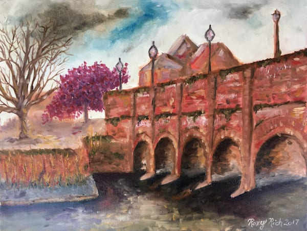 Stratford upon Avon, Print, Cotswolds, oil painting