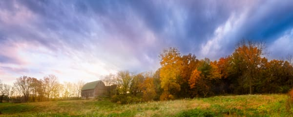 Autumn Barn, Madison, Wisconsin, USA