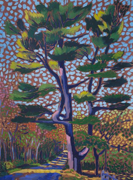 landscapes, art, paintings, prints, Maine, big, pine