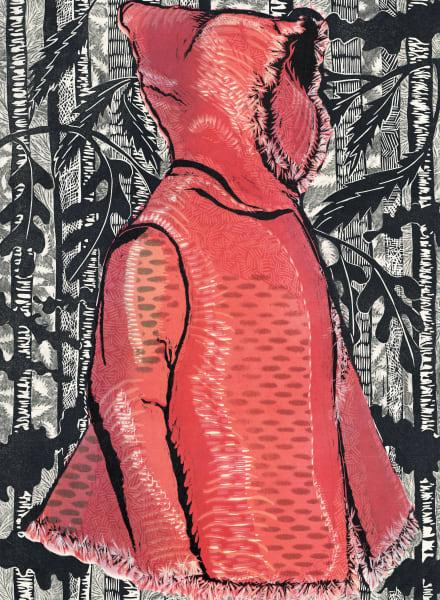 New Mexico artist Ouida Touchon | womenswear handprints for sale.
