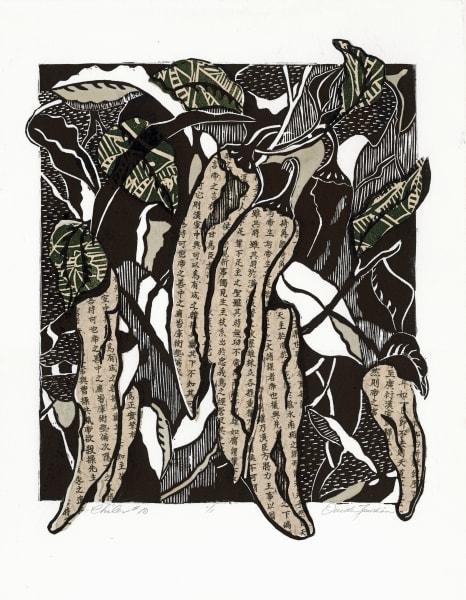 Chiles #10, original fine art for sale by Ouida Touchon
