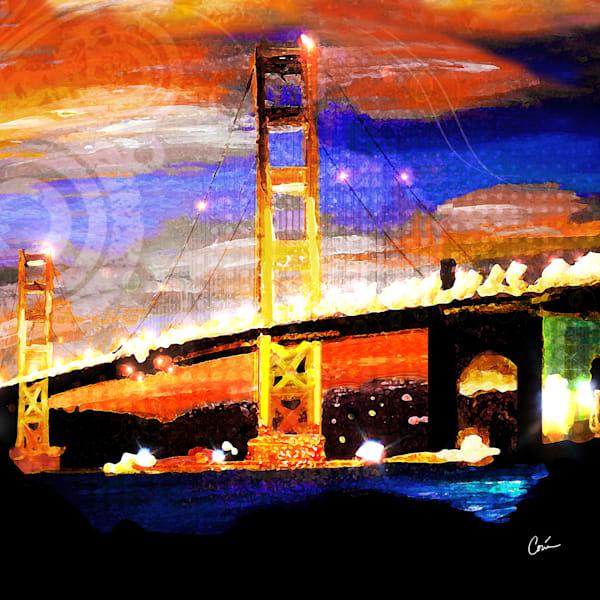 Golden Gate Bridge by Artist Corina Bakke