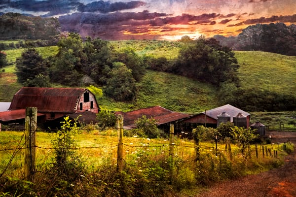 Appalachian Mountain Farm