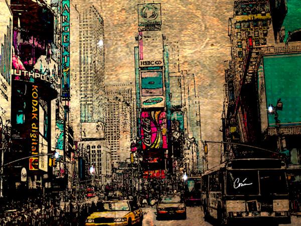 Concrete Jungle in NYC by artist Corina Bakke
