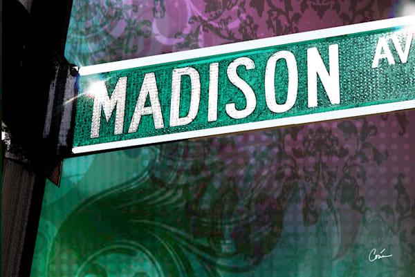 Madison Avenue pop culture sign