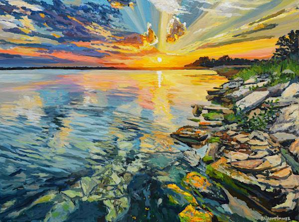 Waters Edge painting