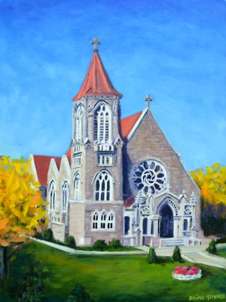 Immaculata Chapel Painting