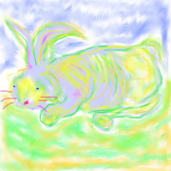 Rabbit Art | Pam White Art