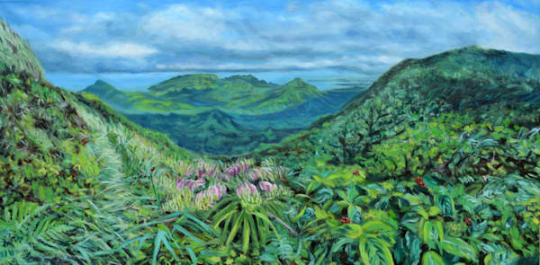 O'ahu Oil Painting